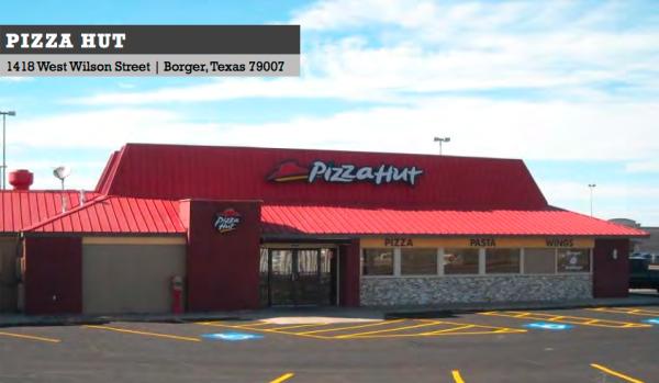Retail Offering Pizza Hut Borger Tx Justin Zahn